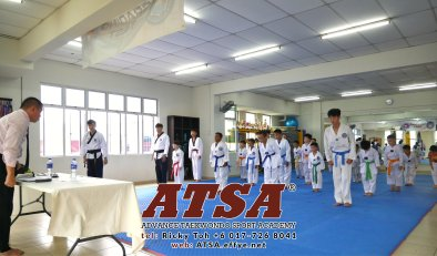 Batu Pahat Sports Ricky Toh Advance Taekwondo Sport Academy ATSA Education Martial Art Self Defence Fitness Poomdae Sparring Kyorugi Batu Pahat Johor Malaysia A02-05