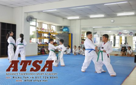 Batu Pahat Sports Ricky Toh Advance Taekwondo Sport Academy ATSA Education Martial Art Self Defence Fitness Poomdae Sparring Kyorugi Batu Pahat Johor Malaysia A02-06
