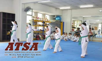 Batu Pahat Sports Ricky Toh Advance Taekwondo Sport Academy ATSA Education Martial Art Self Defence Fitness Poomdae Sparring Kyorugi Batu Pahat Johor Malaysia A02-07