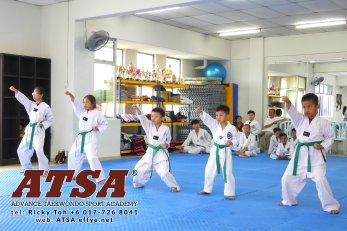 Batu Pahat Sports Ricky Toh Advance Taekwondo Sport Academy ATSA Education Martial Art Self Defence Fitness Poomdae Sparring Kyorugi Batu Pahat Johor Malaysia A02-08