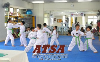 Batu Pahat Sports Ricky Toh Advance Taekwondo Sport Academy ATSA Education Martial Art Self Defence Fitness Poomdae Sparring Kyorugi Batu Pahat Johor Malaysia A02-09