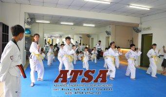 Batu Pahat Sports Ricky Toh Advance Taekwondo Sport Academy ATSA Education Martial Art Self Defence Fitness Poomdae Sparring Kyorugi Batu Pahat Johor Malaysia A02-10