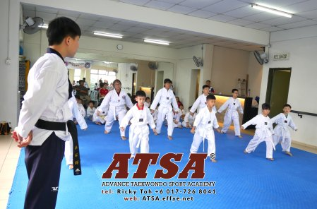 Batu Pahat Sports Ricky Toh Advance Taekwondo Sport Academy ATSA Education Martial Art Self Defence Fitness Poomdae Sparring Kyorugi Batu Pahat Johor Malaysia A02-12