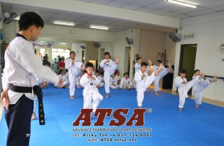 Batu Pahat Sports Ricky Toh Advance Taekwondo Sport Academy ATSA Education Martial Art Self Defence Fitness Poomdae Sparring Kyorugi Batu Pahat Johor Malaysia A02-13