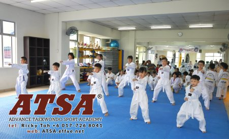 Batu Pahat Sports Ricky Toh Advance Taekwondo Sport Academy ATSA Education Martial Art Self Defence Fitness Poomdae Sparring Kyorugi Batu Pahat Johor Malaysia A02-15