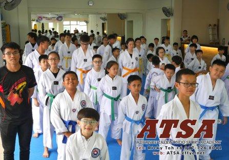Batu Pahat Sports Ricky Toh Advance Taekwondo Sport Academy ATSA Education Martial Art Self Defence Fitness Poomdae Sparring Kyorugi Batu Pahat Johor Malaysia A02-17