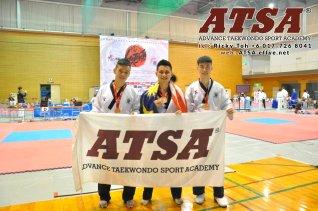 Batu Pahat Sports Ricky Toh Advance Taekwondo Sport Academy ATSA Education Martial Art Self Defence Fitness Poomdae Sparring Kyorugi Batu Pahat Johor Malaysia A02-18