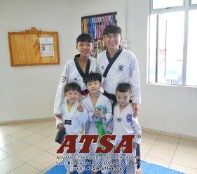 Batu Pahat Sports Ricky Toh Advance Taekwondo Sport Academy ATSA Education Martial Art Self Defence Fitness Poomdae Sparring Kyorugi Batu Pahat Johor Malaysia A02-22