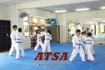 Batu Pahat Sports Ricky Toh Advance Taekwondo Sport Academy ATSA Education Martial Art Self Defence Fitness Poomdae Sparring Kyorugi Batu Pahat Johor Malaysia A02-25