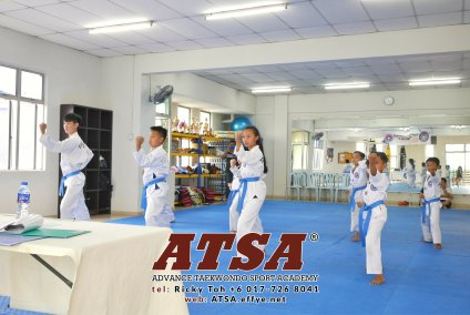 Batu Pahat Sports Ricky Toh Advance Taekwondo Sport Academy ATSA Education Martial Art Self Defence Fitness Poomdae Sparring Kyorugi Batu Pahat Johor Malaysia A02-27