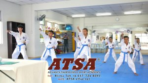 Batu Pahat Sports Ricky Toh Advance Taekwondo Sport Academy ATSA Education Martial Art Self Defence Fitness Poomdae Sparring Kyorugi Batu Pahat Johor Malaysia A02-28