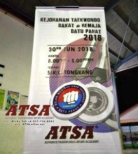 Batu Pahat Sports Ricky Toh Advance Taekwondo Sport Academy ATSA Education Martial Art Self Defence Fitness Poomdae Sparring Kyorugi Batu Pahat Johor Malaysia A02-29