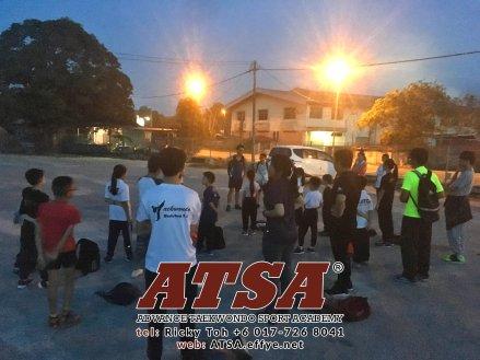 Batu Pahat Sports Ricky Toh Advance Taekwondo Sport Academy ATSA Education Martial Art Self Defence Fitness Poomdae Sparring Kyorugi Batu Pahat Johor Malaysia A03-12