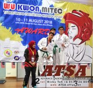 Batu Pahat Sports Ricky Toh Advance Taekwondo Sport Academy ATSA Education Martial Art Self Defence Fitness Poomdae Sparring Kyorugi Batu Pahat Johor Malaysia A04-04