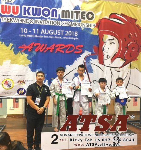 Batu Pahat Sports Ricky Toh Advance Taekwondo Sport Academy ATSA Education Martial Art Self Defence Fitness Poomdae Sparring Kyorugi Batu Pahat Johor Malaysia A04-05