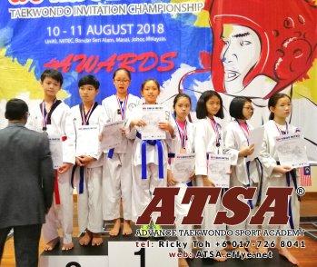 Batu Pahat Sports Ricky Toh Advance Taekwondo Sport Academy ATSA Education Martial Art Self Defence Fitness Poomdae Sparring Kyorugi Batu Pahat Johor Malaysia A04-06