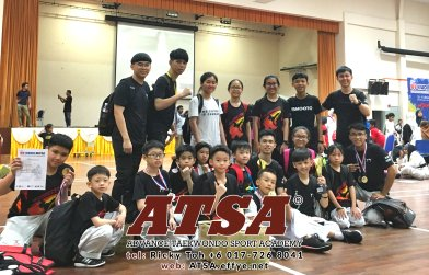 Batu Pahat Sports Ricky Toh Advance Taekwondo Sport Academy ATSA Education Martial Art Self Defence Fitness Poomdae Sparring Kyorugi Batu Pahat Johor Malaysia A04-08