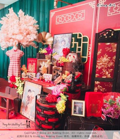 Kiong Art Wedding Event Kuala Lumpur Malaysia Event and Wedding Decoration Company One-stop Wedding Planning Services Wedding Theme Oriental Theme Restaurant LTP Sdn Bhd A04-A69