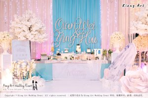 Kiong Art Wedding Event Kuala Lumpur Malaysia Wedding Decoration One-stop Wedding Planning Wedding Theme Fantasy Castle In The Snow Grand Sea View Restaurant A06-A01-03