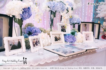 Kiong Art Wedding Event Kuala Lumpur Malaysia Wedding Decoration One-stop Wedding Planning Wedding Theme Fantasy Castle In The Snow Grand Sea View Restaurant A06-A01-04