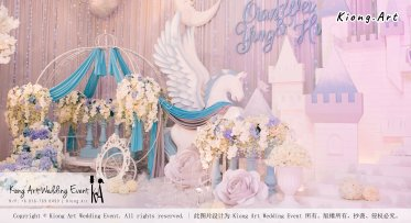 Kiong Art Wedding Event Kuala Lumpur Malaysia Wedding Decoration One-stop Wedding Planning Wedding Theme Fantasy Castle In The Snow Grand Sea View Restaurant A06-A01-06