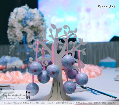 Kiong Art Wedding Event Kuala Lumpur Malaysia Wedding Decoration One-stop Wedding Planning Wedding Theme Fantasy Castle In The Snow Grand Sea View Restaurant A06-A01-08