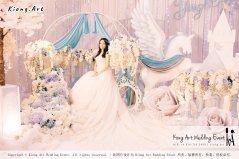 Kiong Art Wedding Event Kuala Lumpur Malaysia Wedding Decoration One-stop Wedding Planning Wedding Theme Fantasy Castle In The Snow Grand Sea View Restaurant A06-A01-13