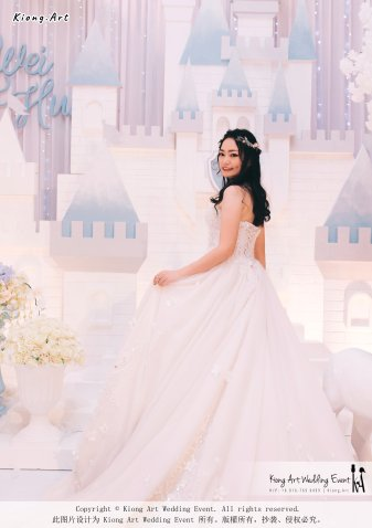 Kiong Art Wedding Event Kuala Lumpur Malaysia Wedding Decoration One-stop Wedding Planning Wedding Theme Fantasy Castle In The Snow Grand Sea View Restaurant A06-A01-15