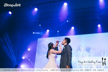 Kiong Art Wedding Event Kuala Lumpur Malaysia Wedding Decoration One-stop Wedding Planning Wedding Theme Fantasy Castle In The Snow Grand Sea View Restaurant A06-A01-20