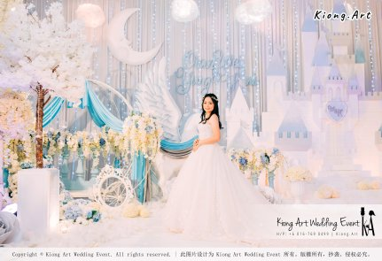 Kiong Art Wedding Event Kuala Lumpur Malaysia Wedding Decoration One-stop Wedding Planning Wedding Theme Fantasy Castle In The Snow Grand Sea View Restaurant A06-A01-32