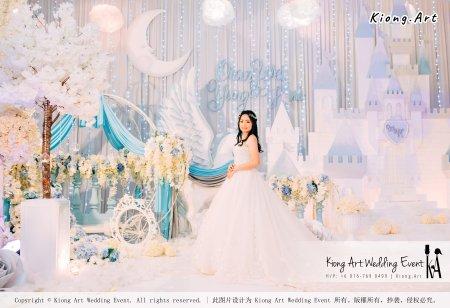 Kiong Art Wedding Event Kuala Lumpur Malaysia Wedding Decoration One-stop Wedding Planning Wedding Theme Fantasy Castle In The Snow Grand Sea View Restaurant A06-A01-32