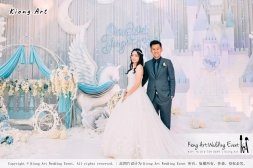 Kiong Art Wedding Event Kuala Lumpur Malaysia Wedding Decoration One-stop Wedding Planning Wedding Theme Fantasy Castle In The Snow Grand Sea View Restaurant A06-A01-33
