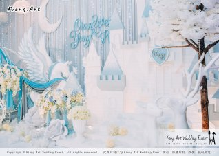 Kiong Art Wedding Event Kuala Lumpur Malaysia Wedding Decoration One-stop Wedding Planning Wedding Theme Fantasy Castle In The Snow Grand Sea View Restaurant A06-A01-41