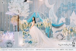 Kiong Art Wedding Event Kuala Lumpur Malaysia Wedding Decoration One-stop Wedding Planning Wedding Theme Fantasy Castle In The Snow Grand Sea View Restaurant A06-A01-42