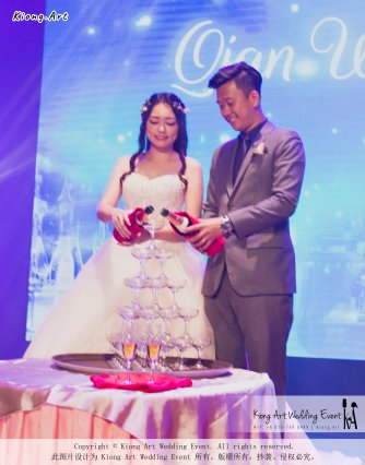 Kiong Art Wedding Event Kuala Lumpur Malaysia Wedding Decoration One-stop Wedding Planning Wedding Theme Fantasy Castle In The Snow Grand Sea View Restaurant A06-A01-47