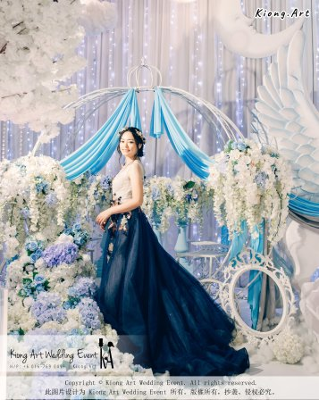Kiong Art Wedding Event Kuala Lumpur Malaysia Wedding Decoration One-stop Wedding Planning Wedding Theme Fantasy Castle In The Snow Grand Sea View Restaurant A06-A01-53