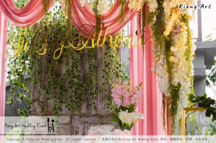 Kiong Art Wedding Event Kuala Lumpur Malaysia Wedding Decoration One-stop Wedding Planning Wedding Theme Romantic Garden Wedding Kluang Container Swimming Pool Homestay A05-A01-016