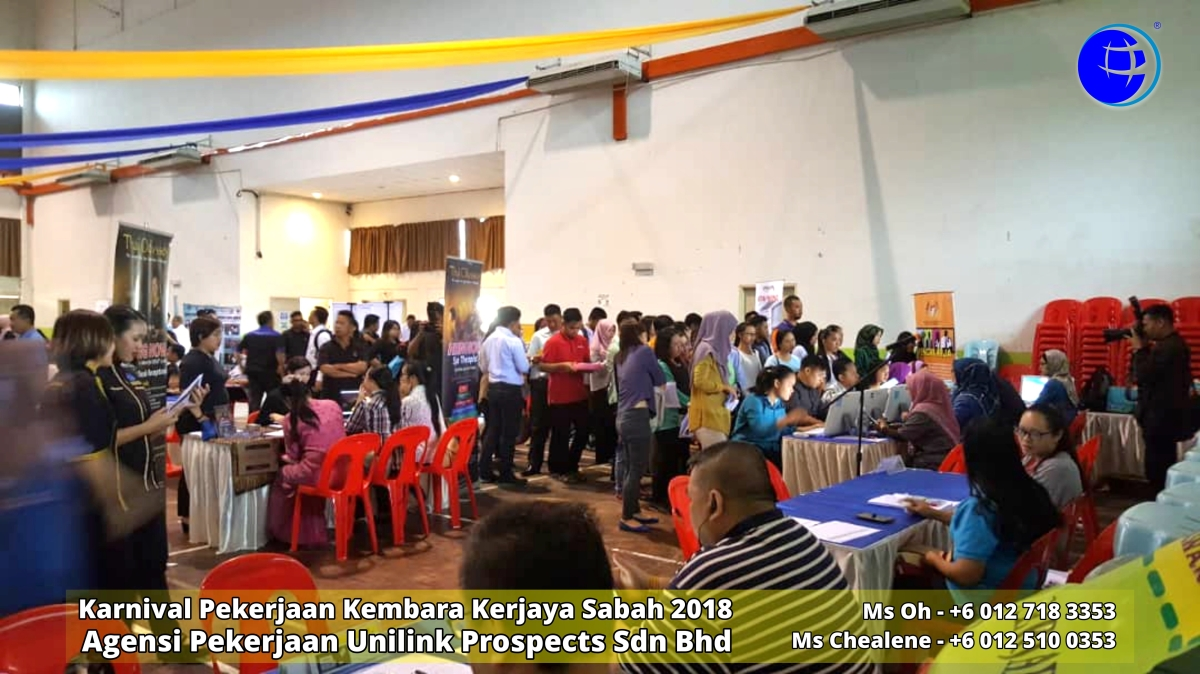 Karnival Pekerjaan Kembara Kerjaya Sabah 2018