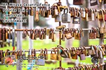 BP Wijaya Trading Sdn Bhd Malaysia Pahang Kuantan Temerloh Mentakab Manufacturer of Safety Fences Building Materials for Housing Construction Site Industial Security Fencing Factory A01-57