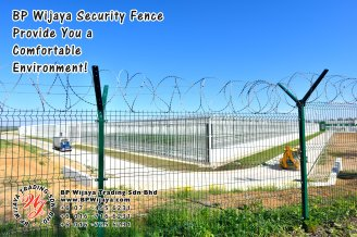BP Wijaya Trading Sdn Bhd Malaysia Pahang Kuantan Temerloh Mentakab Manufacturer of Safety Fences Building Materials for Housing Construction Site Industial Security Fencing Factory A01-68