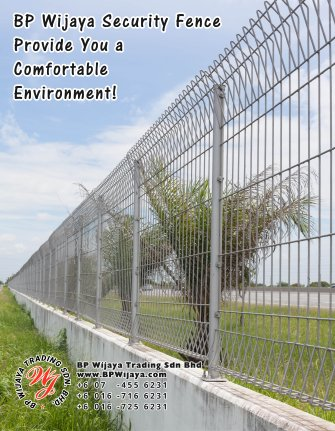 BP Wijaya Trading Sdn Bhd Malaysia Pahang Kuantan Temerloh Mentakab Manufacturer of Safety Fences Building Materials for Housing Construction Site Industial Security Fencing Factory A01-10