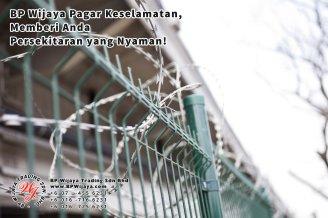 BP Wijaya Trading Sdn Bhd Malaysia Pahang Kuantan Temerloh Mentakab Pengeluar Pagar Keselamatan Pagar Taman Bangunan dan Kilang dan Rumah untuk Bandar Pemborong Pagar A01-05