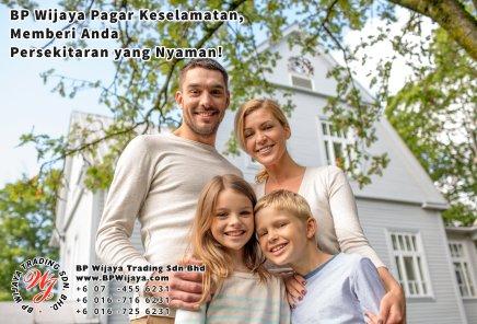 BP Wijaya Trading Sdn Bhd Malaysia Pahang Kuantan Temerloh Mentakab Pengeluar Pagar Keselamatan Pagar Taman Bangunan dan Kilang dan Rumah untuk Bandar Pemborong Pagar A01-19