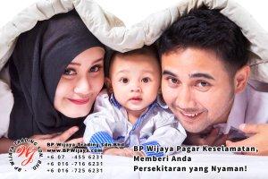BP Wijaya Trading Sdn Bhd Malaysia Pahang Kuantan Temerloh Mentakab Pengeluar Pagar Keselamatan Pagar Taman Bangunan dan Kilang dan Rumah untuk Bandar Pemborong Pagar A01-34