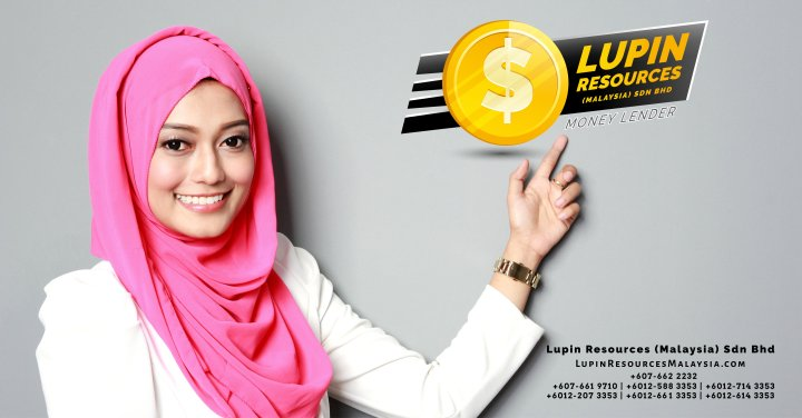 Johor Licensed Loan Company Licensed Money Lender Lupin Resources Malaysia SDN BHD Your money resource provider Kulai Johor Bahru Johor Malaysia Business Loan A00-01