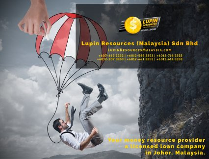 Johor Licensed Loan Company Licensed Money Lender Lupin Resources Malaysia SDN BHD Your money resource provider Kulai Johor Bahru Johor Malaysia Business Loan A01-04