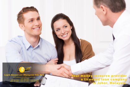 Johor Licensed Loan Company Licensed Money Lender Lupin Resources Malaysia SDN BHD Your money resource provider Kulai Johor Bahru Johor Malaysia Business Loan A01-15