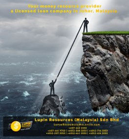 Johor Licensed Loan Company Licensed Money Lender Lupin Resources Malaysia SDN BHD Your money resource provider Kulai Johor Bahru Johor Malaysia Business Loan A01-16