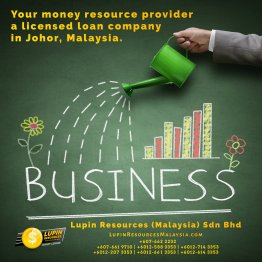 Johor Licensed Loan Company Licensed Money Lender Lupin Resources Malaysia SDN BHD Your money resource provider Kulai Johor Bahru Johor Malaysia Business Loan A01-18