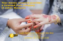 Johor Licensed Loan Company Licensed Money Lender Lupin Resources Malaysia SDN BHD Your money resource provider Kulai Johor Bahru Johor Malaysia Business Loan A01-22